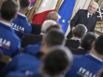 Sport: 7^edizione dei Giochi Mondiali Militari, Mattarella consegna il Tricolore agli azzurri