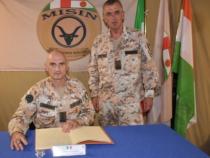 Niger: Missione MISIN, visita del Generale di Corpo d'Armata Luciano Portolano