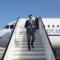 Magistrati della Procura di Civitavecchia saliti sull'Air force Renzi