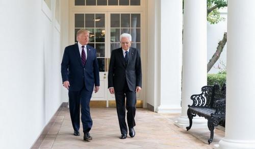 Casa Bianca: Spese per la Difesa e F-35, incontro Trump con Mattarella