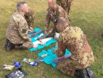 Concluso l'addestramento congiunto tra i genieri della Brigata Alpina Julia ed il Corpo Militare Volontario Della Croce Rossa Italiana