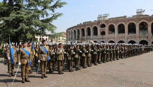 Verona: Giuramento di 405 VFP1 dell'85° Reggimento Addestramento Volontari (RAV)