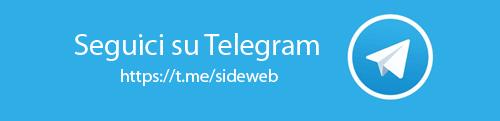 Seguici su Telegram unisciti al canale sideweb e forzearmate.org