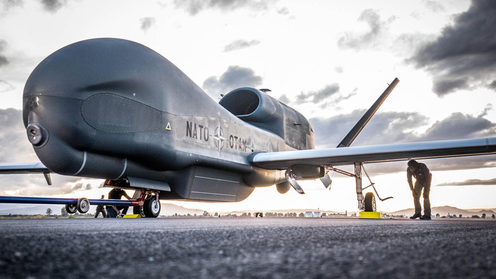 Sigonella: Partita la prima missione per il nuovo super drone Nato