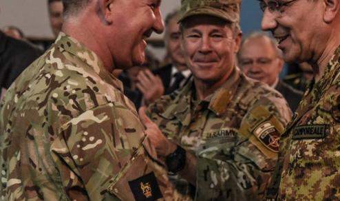 """Afghanistan: Cambio comando a """"Camp RS"""", lascia il Generale Salvatore Camporeale"""