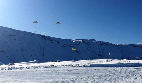Dolomiti: Conclusa l'attività addestrativa del 187° Reggimento Folgore