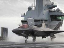 Regno Unito: Per la prima volta un F35 decolla dalla portaerei HMS Queen Elizabeth
