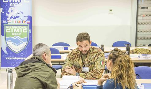 Terminati i corsi NATO CIMIC Field & Staff Worker