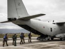Pisa: Svolto il tradizionale aviolancio di fine anno fra l'Esercito e l'Aeronautica Militare