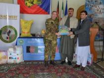 Afghanistan: Il contingente italiano ha donato 550 kit di generi alimentari di prima necessità