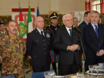 Il Presidente Mattarella ha incontrato i soldati dell'Operazione Strade Sicure