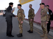 Afghanistan: Visita del Comandante Generale dell'Arma dei Carabinieri al TAAC-W