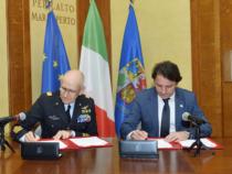 Sottoscritto Protocollo d'intesa tra INPS e Aeronautica Militare
