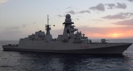"""Mar Nero: La fregata italiana Fasan """"nel mirino"""" della Flotta Russa"""