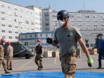 Aeronautica Militare: A Cremona inaugurato l'ospedale da campo