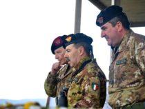 Sardegna: Visita del Capo di Stato Maggiore dell'Esercito Generale Salvatore Farina