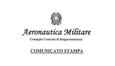 Comunicato Stampa Cocer Aeronautica Militare