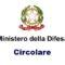 Circolare: Disposizioni sull'applicazione al personale militare delle misure straordinarie in materia di lavoro agile e di assenza dal servizio
