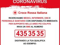 Emergenza Coronavirus: La Croce Rossa ricerca medici e infermieri con disponibilità immediata
