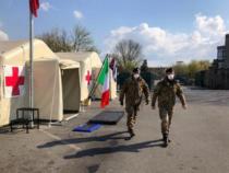 Emergenza da pandemia Covid-19: L'impegno delle Forze Armate, portati ventilatori e mascherine