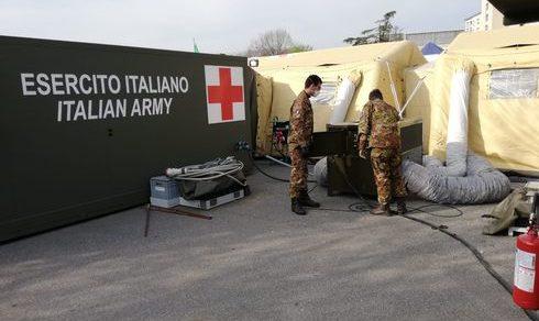 Lotta al Covid-19: L'Esercito per il Paese e i cittadini