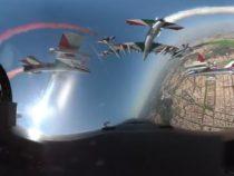 25 aprile: Le Frecce Tricolori sorvolano Roma, il video immersivo dell'Aeronautica Militare