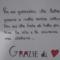 Ospedale da campo di Piacenza: Disegni e dediche di ringraziamento ai militari