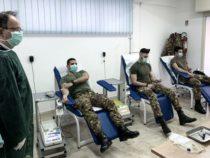 """Calabria: I militari di """"Strade Sicure"""" hanno aderito alla campagna per la donazione di sangue"""