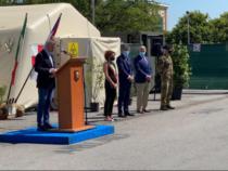 Emergenza Covid-19: Ammaina bandiera all'Ospedale da campo di Crema