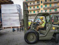 Emergenza Covid-19: Napoli, L'Esercito per la solidarietà