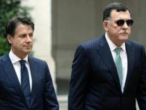 Politica: Incontro riservato tra Giuseppe Conte e il premier Fayez Serraj