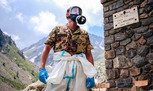 Regione Piemonte: Cai e Esercito insieme per sanificare i rifugi