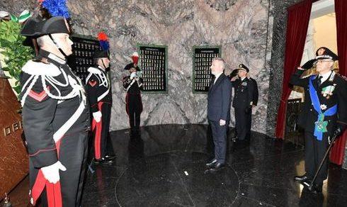 Festa per i 206 anni di costituzione dell'Arma dei Carabinieri: Il messaggio di auguri del ministro della Difesa Lorenzo Guerini