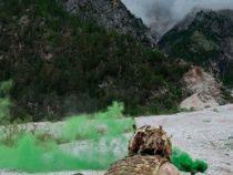 Addestramento in Val d'Oten del 7° reggimento alpini della brigata Julia di stanza a Belluno