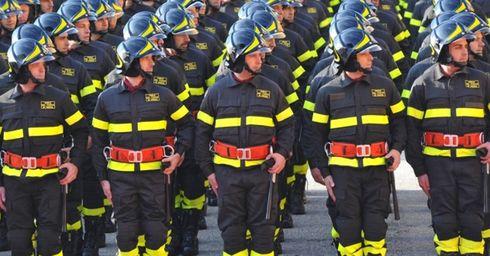 Vigili del fuoco: Giuramento del 90° corso allievi