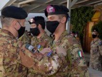 """Aghanistan: Cerimonia """"Medal Parade"""" per il personale che si appresta a concludere il proprio mandato operativo"""