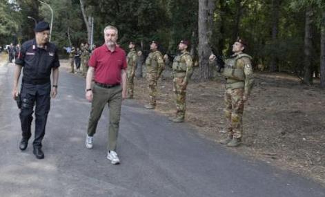 """Esercitazione """"Neo 2020"""": Addestramento Gis e Carabinieri Tuscania al Cisam"""