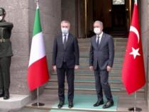 Turchia: Il ministro della Difesa Guerini in un incontro bilaterale con il collega turco Hulusi Akar