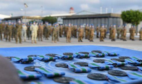 "Caschi blu Libano: Consegnate 250 medaglie ""UN"" ai soldati italiani"