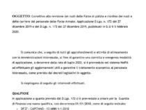 NoiPA: Correttivo alla revisione dei ruoli delle Forze di polizia e riordino dei ruoli e delle carriere del personale delle Forze Armate