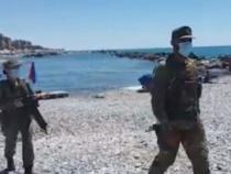 Ventimiglia: La verità sui militari in spiaggia