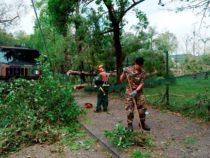 Esercito Italiano: I militari a Verona per liberare la città dai detriti dopo il nubifragio dei giorni scorsi