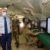 Città Militare della Cecchignola Roma: Visita del ministro Guerini al reparto di sicurezza cibernetica