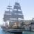 Taranto: L'Amerigo Vespucci chiude la Campagna 2020 con il passaggio a vela del ponte girevole