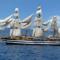 Marina Militare: La traversata sullo Stretto di Messina della nave scuola Amerigo Vespucci