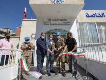 """Unifil Libano: I Caschi blu italiani ristrutturano la sede del Centro """"Al-Basma Center for special needs"""""""