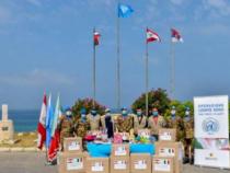 Solidarietà: Caschi Blu italiani in Libano consegnano medicinali, vestiario, giocattoli e materiale scolastico per i più bisognosi