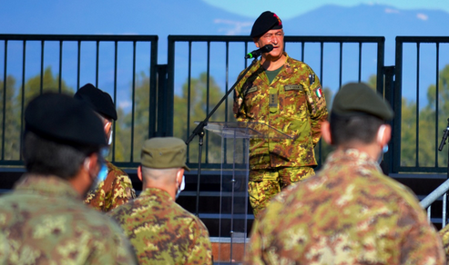 """Esercito: Visita del Generale Giuseppenicola Tota al Comando Divisione """"Acqui"""""""