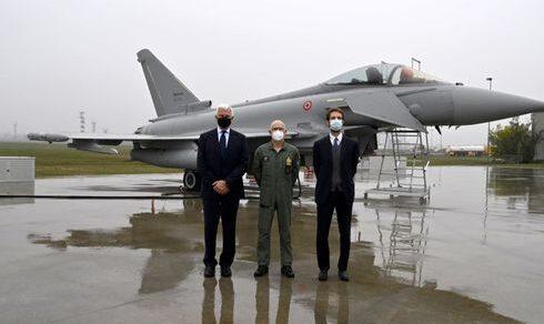 """Aeronautica Militare: Leonardo consegna il caccia intercettore """"Eurofighter Typhoon"""""""