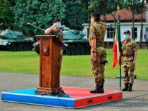 """Avvicendamento: Cambio al Comando al vertice della 132^ Brigata corazzata """"Ariete"""""""